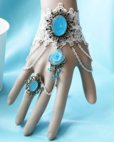 Christmas chain lace accessories gift bride flowers ring