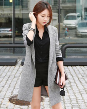 f50ee9a3bb6 Slim thin business suit Casual Korean style coat for women CW16253 ...