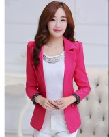Spring and autumn Casual coat long business suit for women