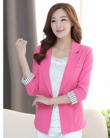 Short sleeve business suit jacket