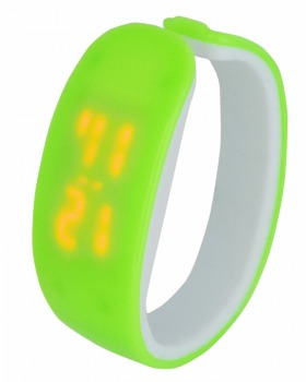 Student candy colors Casual plastic watch