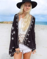 Sunscreen chiffon cardigan summer seaside smock