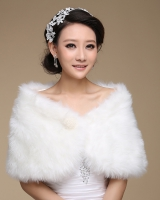 Wedding bride shawl thick autumn and winter coat