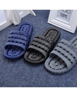 Couples soft soles at home summer slippers for men