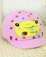 Girl boy child peaked cap autumn shade cotton hat