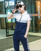 Sports fashion run pants summer mixed colors casual wear for women