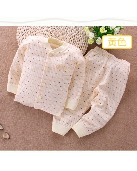European style combed cstand collar cotton  a set