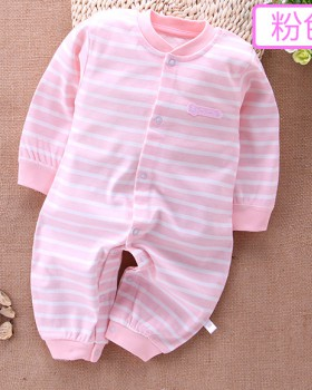 Combed pure cotton romper baby jumpsuit