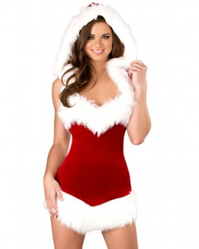 Christmas christmas costumes hooded performance clothing