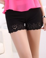 Bottoming thin shorts anti emptied pants for women