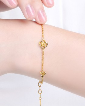 Gilded all-match accessories Korean style gold bracelets