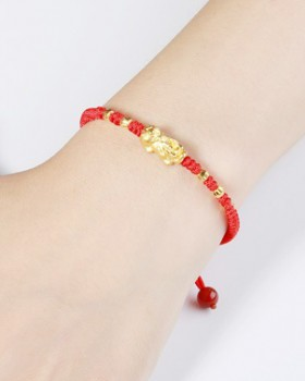 Weave gold accessories fashion bracelets
