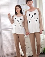 Spring and autumn thin pajamas a set for women
