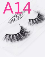 Fake cross mink hair lifelike natural luxurious eyelash