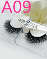 Mink hair thick fake handmade eyelash
