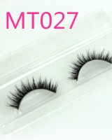 Bare makeup fake natural handmade horsehair eyelash