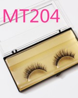 Horsehair thick handmade natural fake eyelash