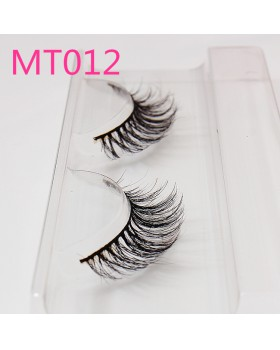 European style fake natural thick horsehair eyelash