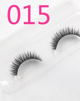Thick fake handmade mink hair natural eyelash