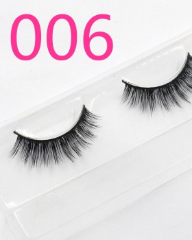 Bare makeup fake thick European style mink hair eyelash