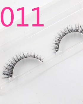 Fake handmade short mink hair natural thick eyelash