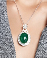 Korean style pendant necklace for women