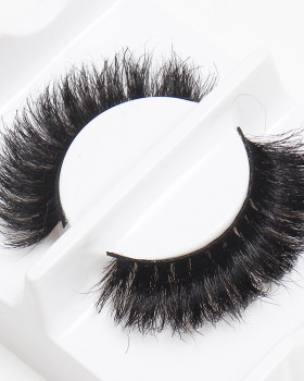 Cross horsehair thick bare makeup soft weave fake eyelash
