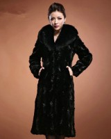 All-match fashion tops slim long coat for women
