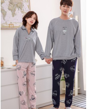 Homewear pajamas cardigan 2pcs set