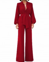 Autumn and winter fashion frenum jumpsuit for women