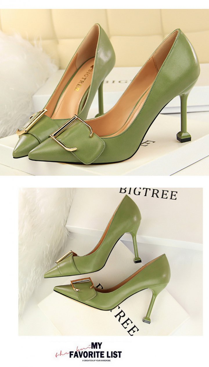 Korean style high-heeled shoes shoes for women