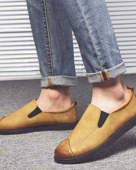 All-match Korean style lazy shoes Casual loafers for men CM03400 ... 5187633b9ca