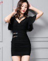 Slim fashion package hip summer sexy dress