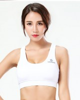 With chest pad run vest yoga sports underwear for women