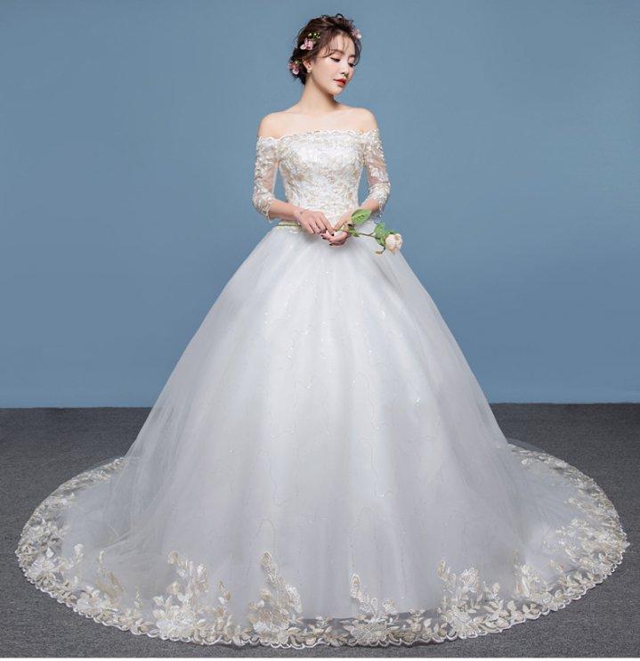 European style dream formal dress slim bride wedding dress YW26986 ...