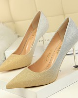 Low stilettos mixed colors color for women