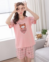Summer pajamas shorts a set for women