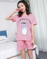 Short sleeve maiden sweet pajamas for women