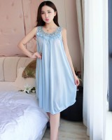 Sleeveless night dress lovely pajamas for women