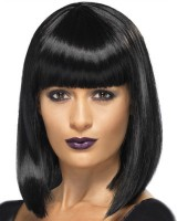 Fashion natural short bangs European style lifelike wig
