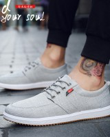 Breathable board shoes classic canvas shoes for men