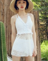 Conservatism separates swimsuit lace skirt for women