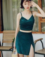 Fashion skirt fashion and elegant swimwear 3pcs set