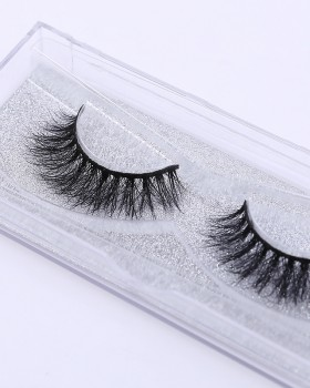 Fake mink hair Asian style stereoscopic natural eyelash