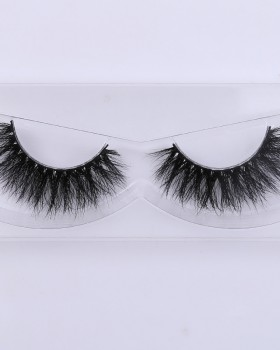 Thick European style fake mink hair stereoscopic cross eyelash