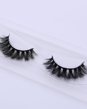 Thick stereoscopic European style mink hair fake eyelash