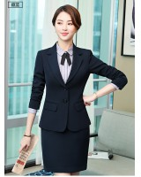 Autumn shirt profession uniform 3pcs set for women