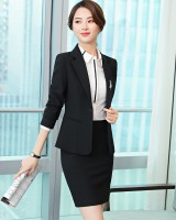 White business suit shirt 3pcs set for women