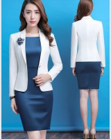 Spring and autumn dress business suit 2pcs set for women
