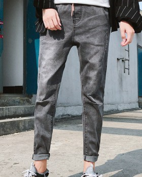All-match long pants autumn and winter jeans for men